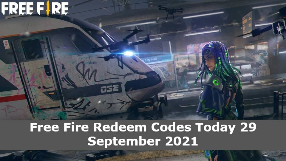 Free Fire Redeem Codes Today 29 September 2021 (1)