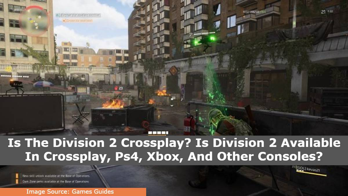 Is The Division 2 Crossplay? Is Division 2 Available In Crossplay, Ps4, Xbox, And Other Consoles?