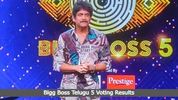 Bigg Boss Telugu 5 Voting Results