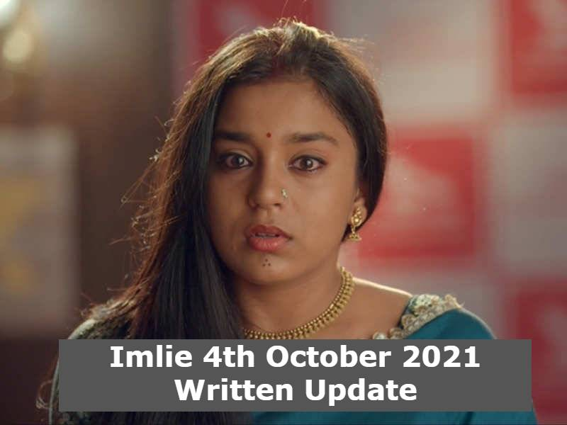 Imlie 4th October 2021 Written Update, Imlie Upcoming Twists