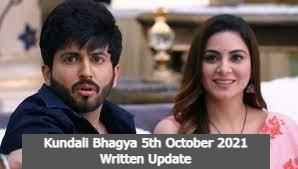 Kundali Bhagya 5th October 2021 Written Update, Kundali Bhagya Upcoming Twists